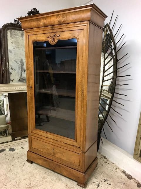 Lovely  Antique Armoire /  Display Cabinet - ca201